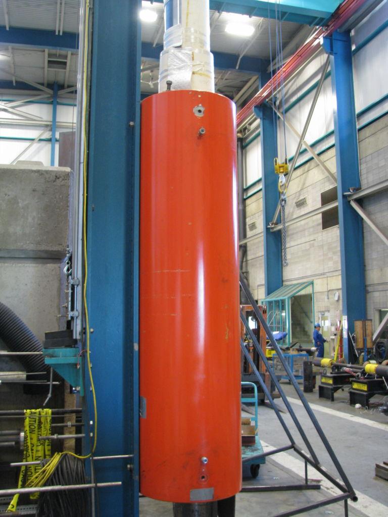 High Capacity Large Stroke Cylinder