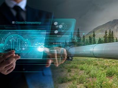 Using cloud computing capabilities of PIRAMID to manage pipeline risk
